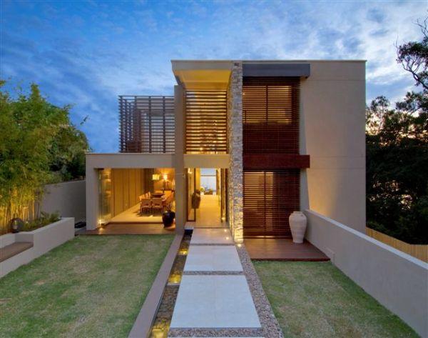 Fotos de fachadas de casas bonitas vote por sus fachadas for Casa contemporanea