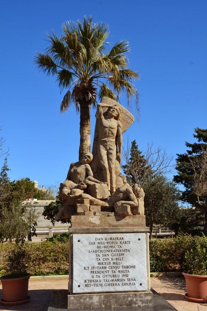 General Impressions Rabat Malta statue