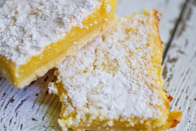 Most Popular: Gooey Lemon Bars from Daily Dish Recipes #SecretRecipeClub #recipe