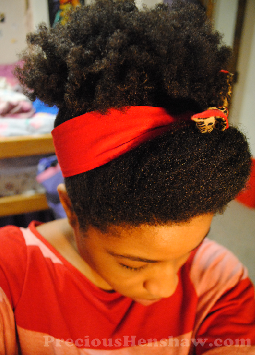 ... Up Scarf Hairstyle for Natural Hair | Curly Nikki | Natural Hair Care