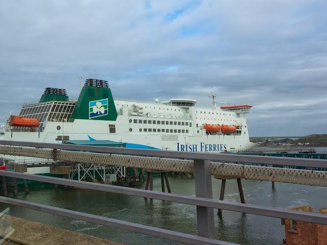 Wales, ferry, Pembroke, expat, travel