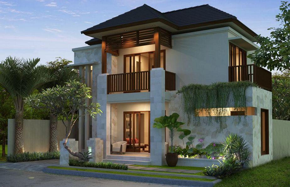 contoh rumah type 110 minimalis dari depan