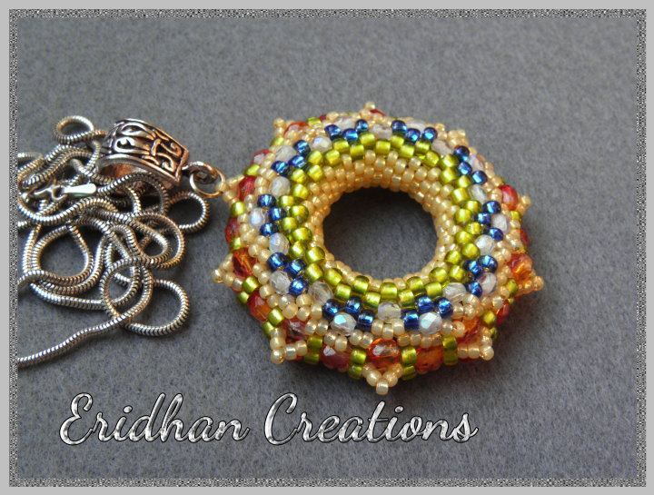 beaded donut tutorial