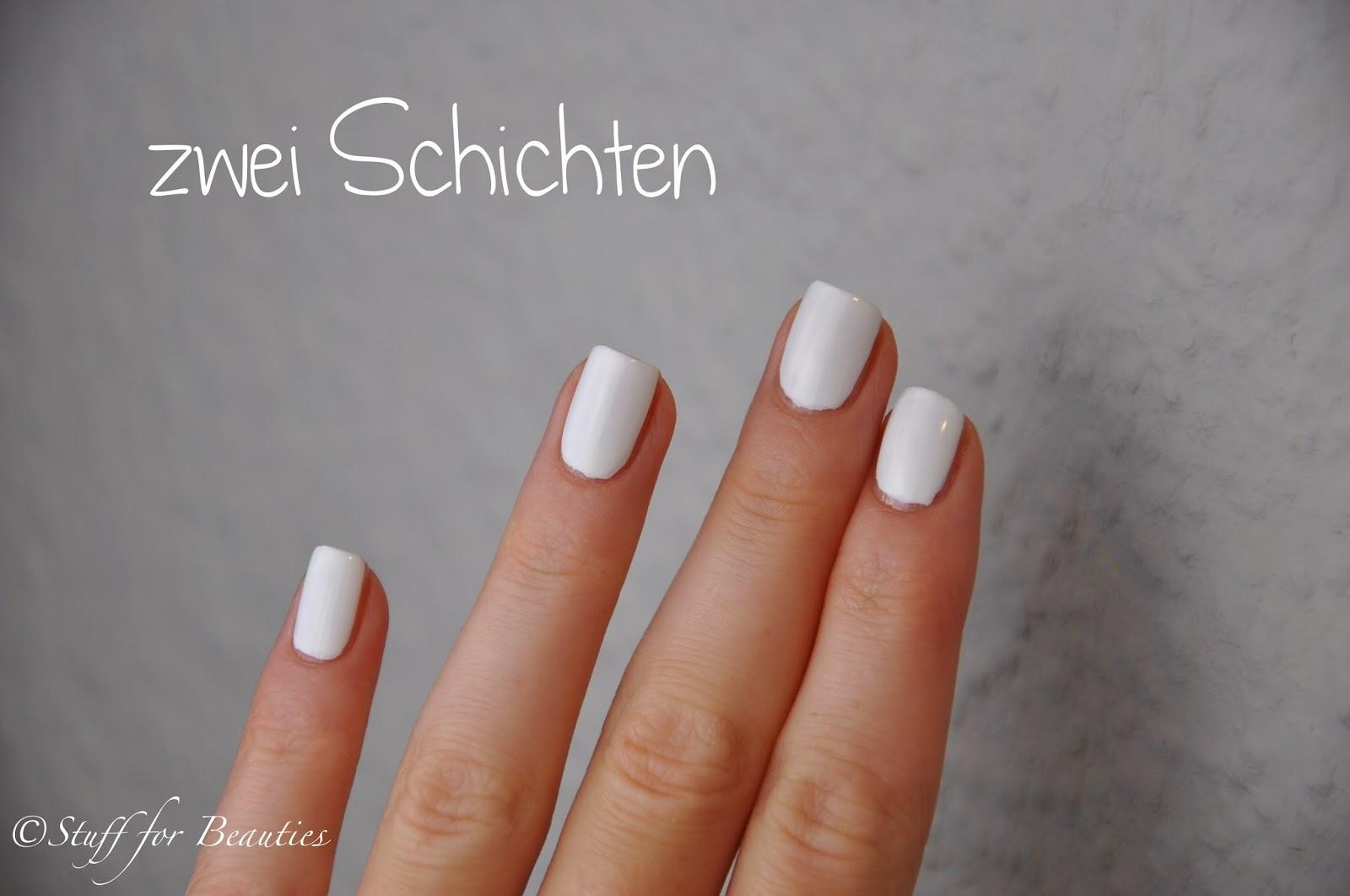 essence color & go Nagellack # 199 wild white ways - weißer ...