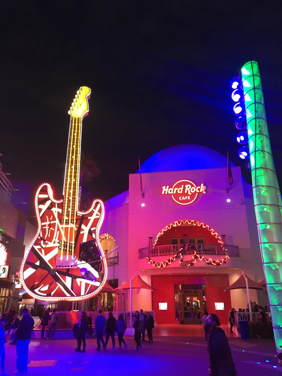Hard Rock Cafe Los Angeles Parking