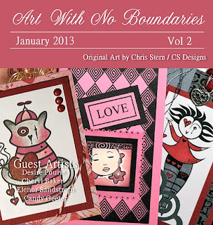 Art With No Boundaries Ezine January 2013 Cover