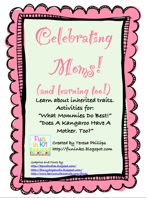 http://www.teacherspayteachers.com/Product/Celebrating-Moms-and-Learning-Too-237620