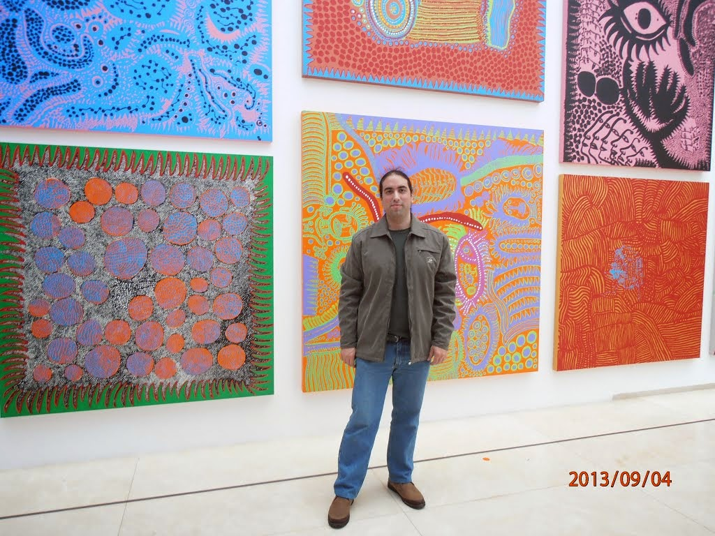 """Mundo Fede: En la exposición """"Yayoi Kusama: Obsesión infinita""""que se ..."""