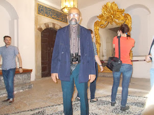"""In the """"Harem""""  complex of Topkapi Palace."""