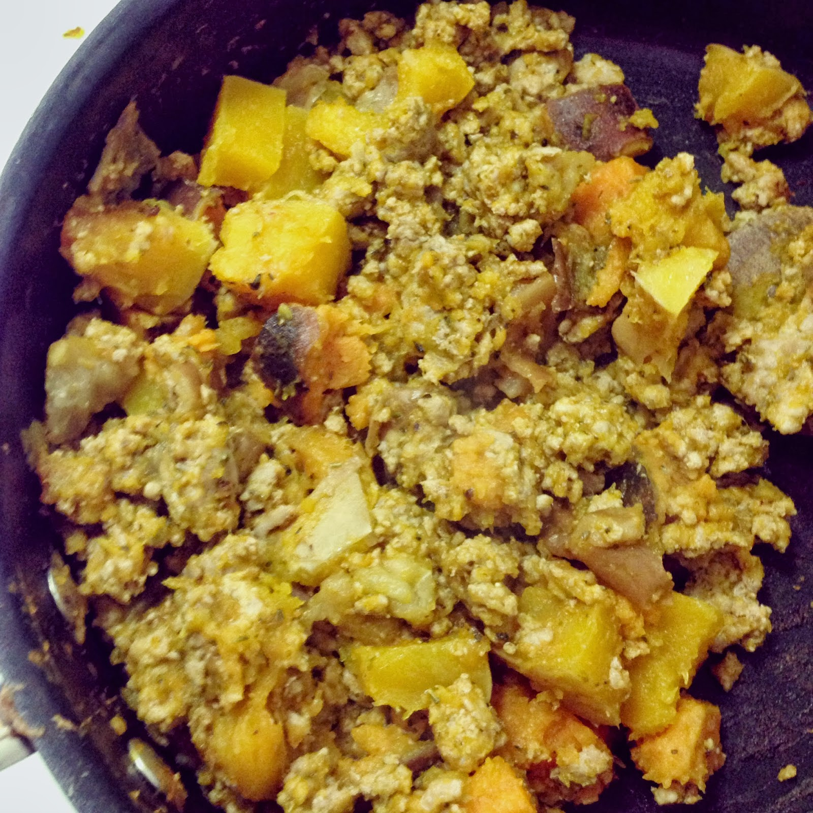 Pumpkin Apple Squash Hash