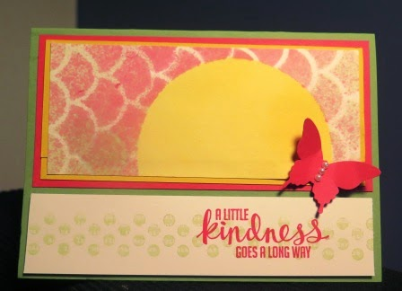 spritzing cards zena kennedy independent stampin up demonstrator