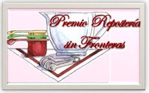 premio Repostería sin Fronteras