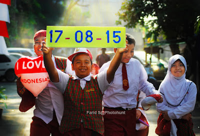 foto HUT RI, Hari Kemerdekaan, human interest