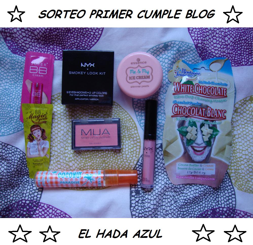 Sorteo cumpleblog Hada Azul