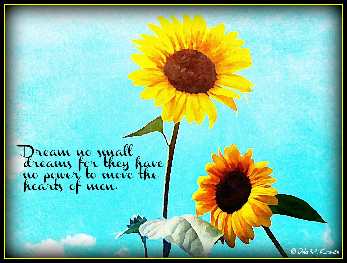 Sunflowers Tumblr Quotes