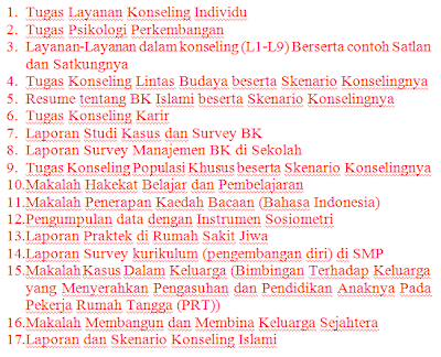 Selain itu, ada juga Skripsi lengkap dan Proposal-proposal penelitian