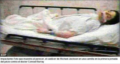 Video del Cadaver de Michel Jackson