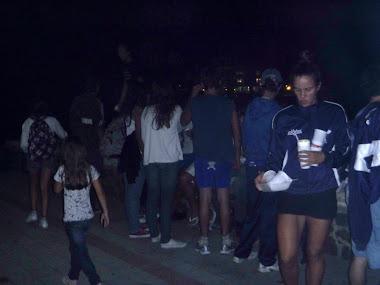 regata Club Colonia Rowing. Marzo 2011. Cena de despedida organizada por FUR Y sub comisión padres