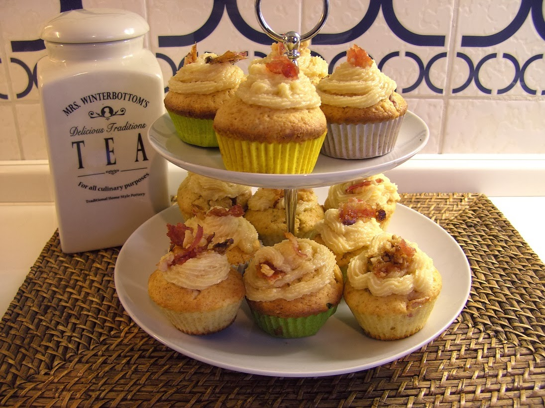 ... Around the World: Lord of the Cupcakes ... Peanut and Bacon Cupcakes