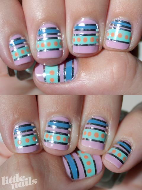 Easter Egg Manicure - little nails
