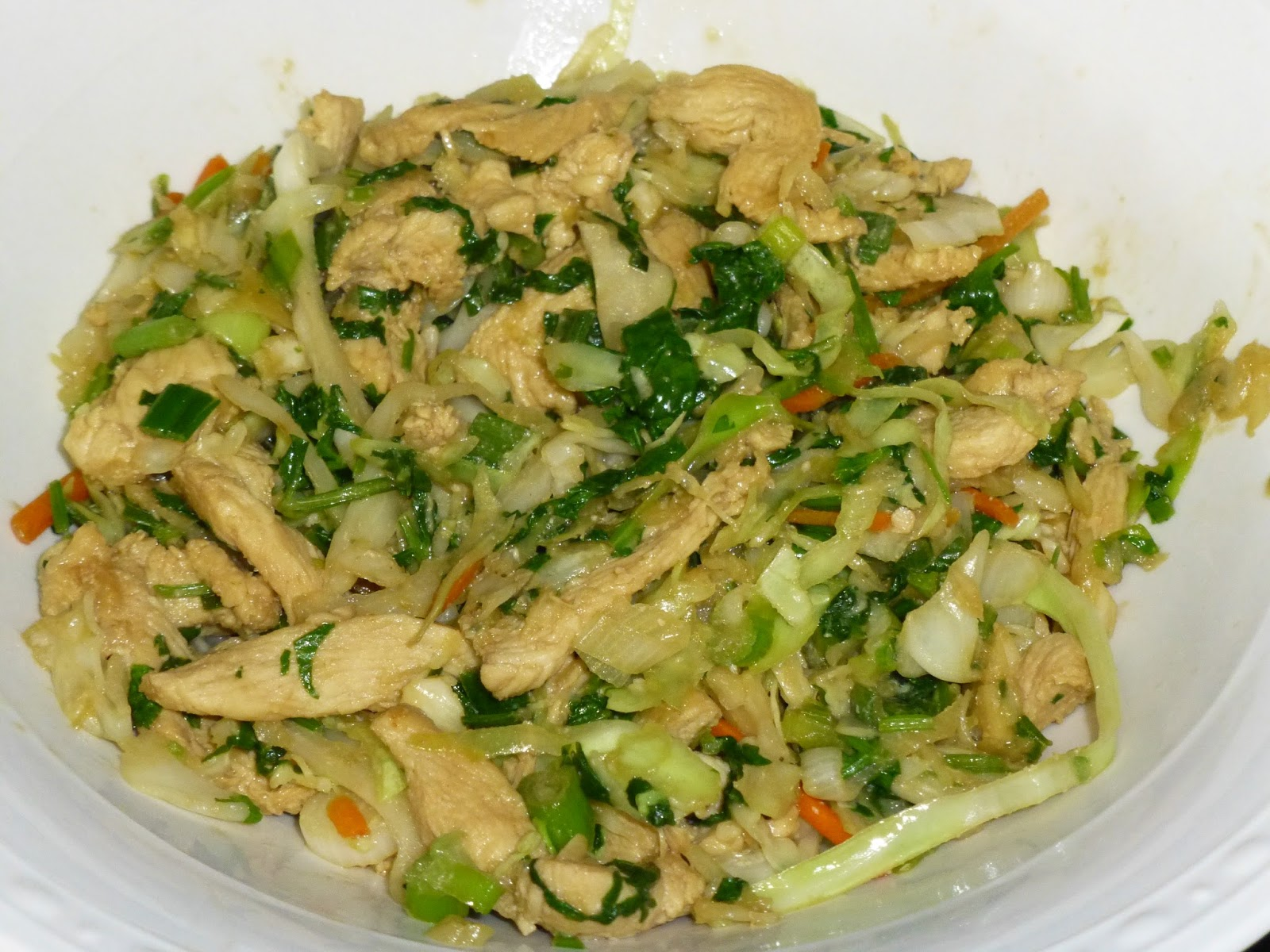 ... Ever After - One Fat Girl's Journey to Getting Healthy: Mu shu Chicken