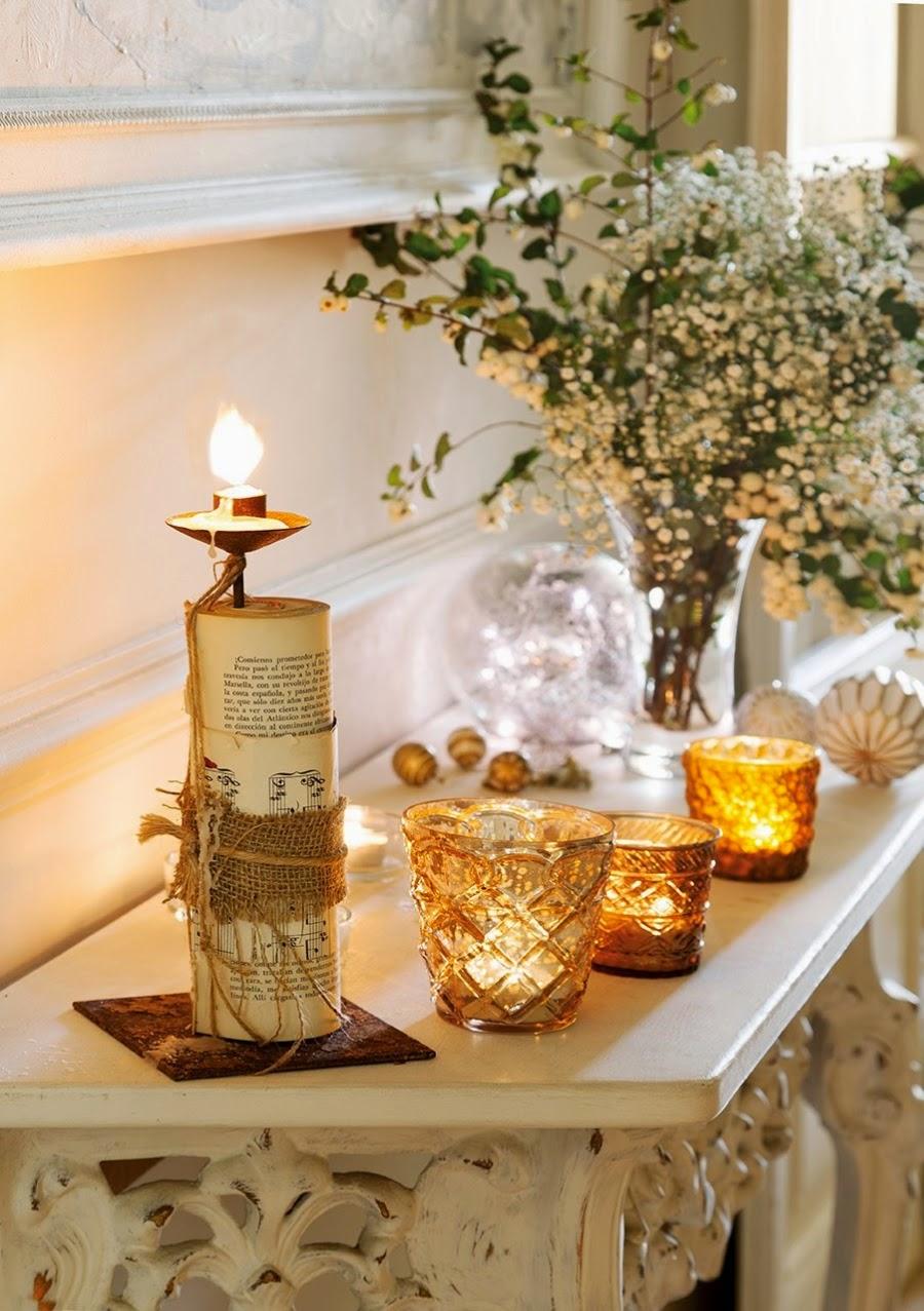 wystrój wnętrz, home decor, wnętrza, styl francuski, urządzanie mieszkania, Boże Narodzenie, Święta, zima, ozdoby świąteczne, styl francuski, białe wnętrza, biel, styl skandynawski, złote akcenty, choinka, świece