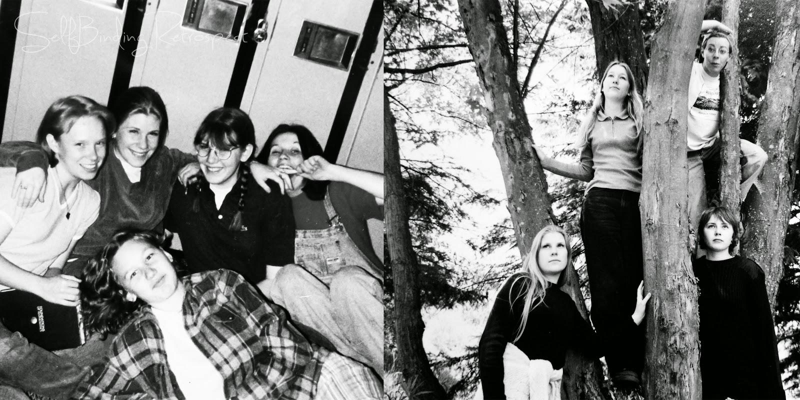 I want to go back to highschool - SelfBinding Retrospect by Alanna Rusnak