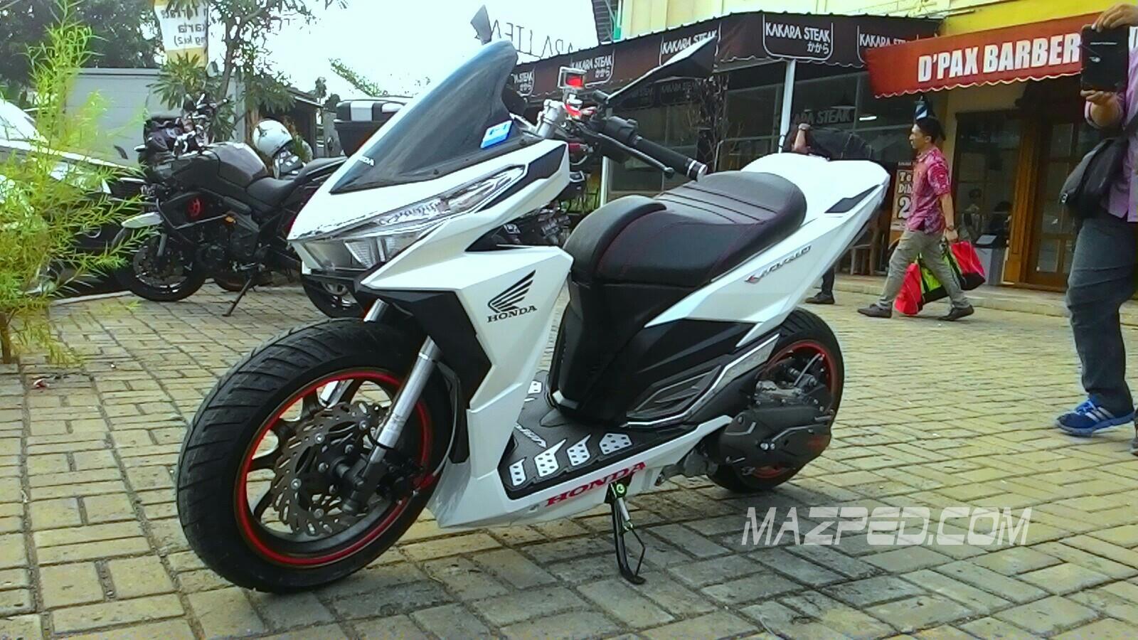 modifikasi motor honda vario 150cc  paling bagus