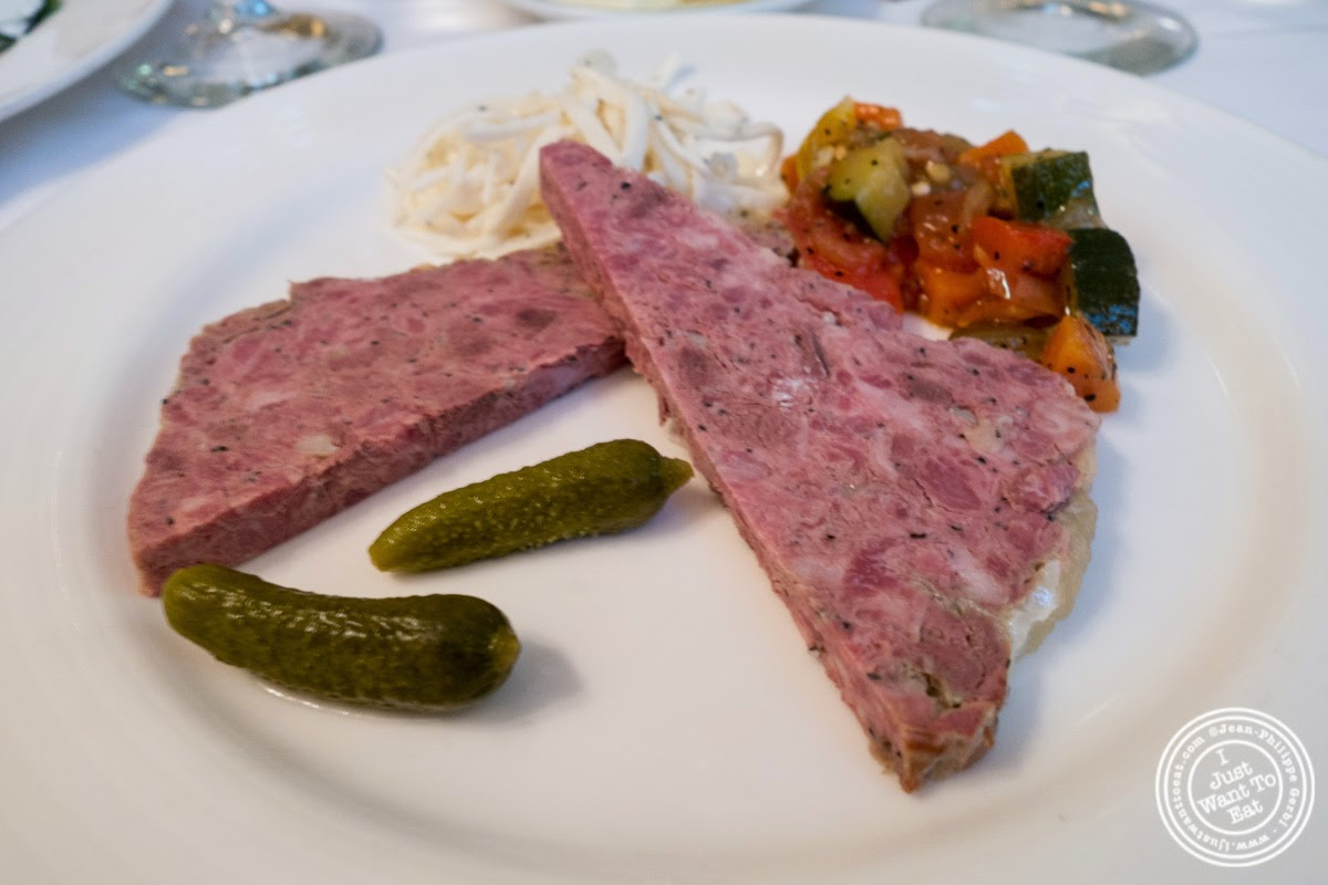image of pâté du Chef at Le Périgord in New York, NY