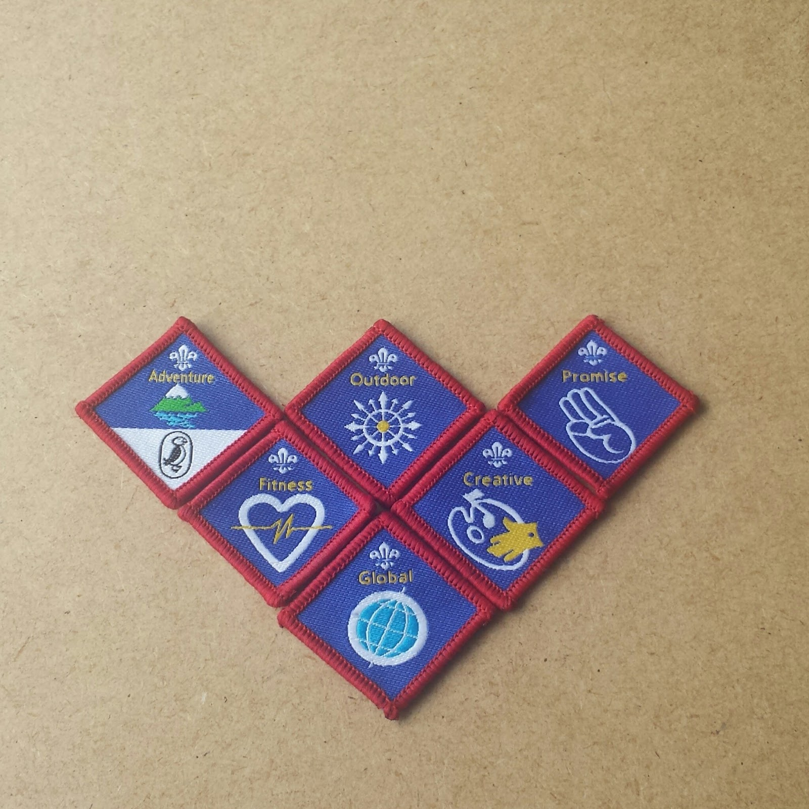 This Week Life Lately April Scout Badges