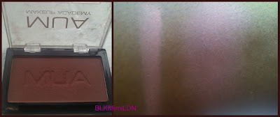 MUA  Blush Shade 3