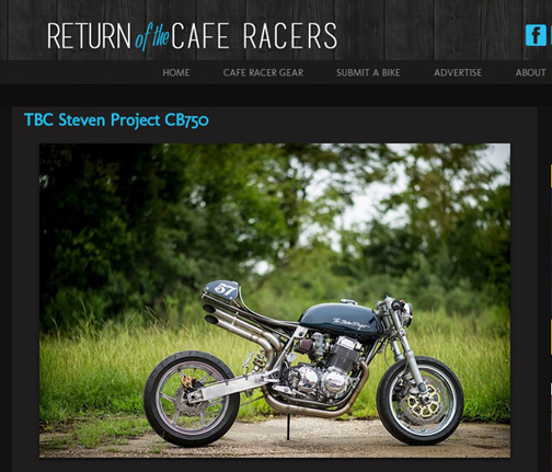 Return of the Cafe Racer