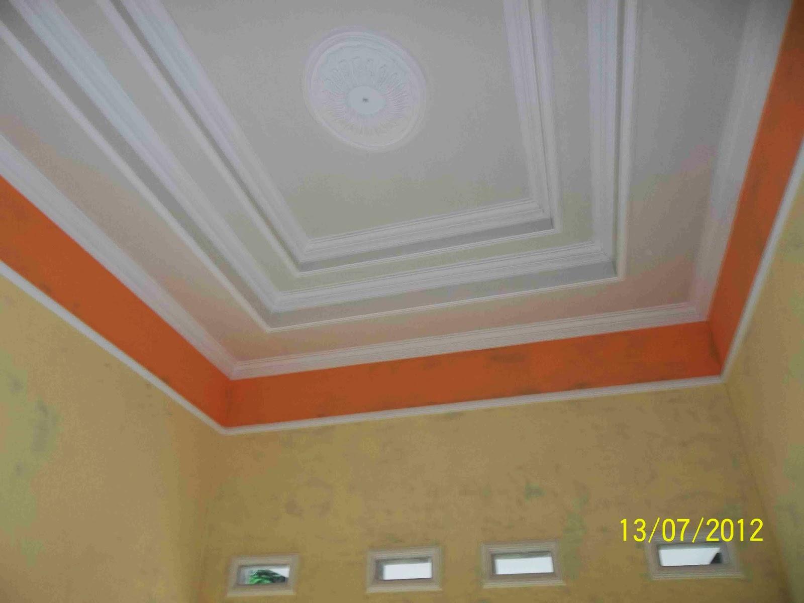 Baja Ringan - Plafon): Pemasangan plafond Gypsum, Partisi,baja ringan