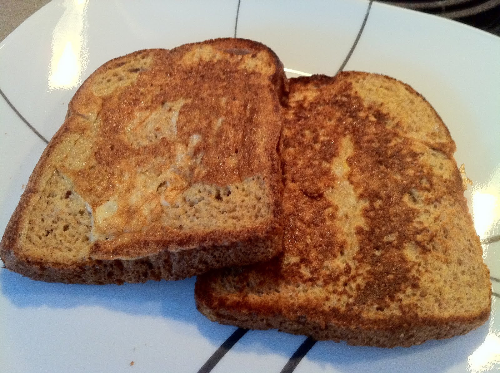 fitness with a fork: Recipe: Pumpkin Spice French Toast