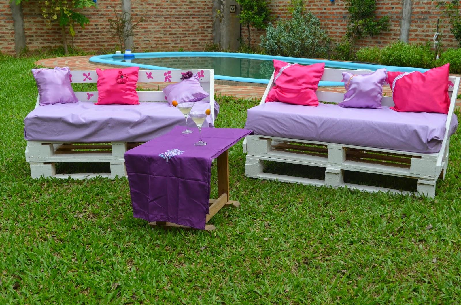 Muebles con pallets taringa - Palet reciclado muebles ...