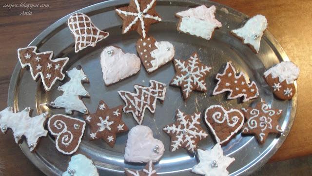 Pierniczki świąteczne różne kształty, tanie i dobre pierniczki