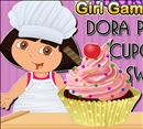 Dora Perfect Cupcake Swirl