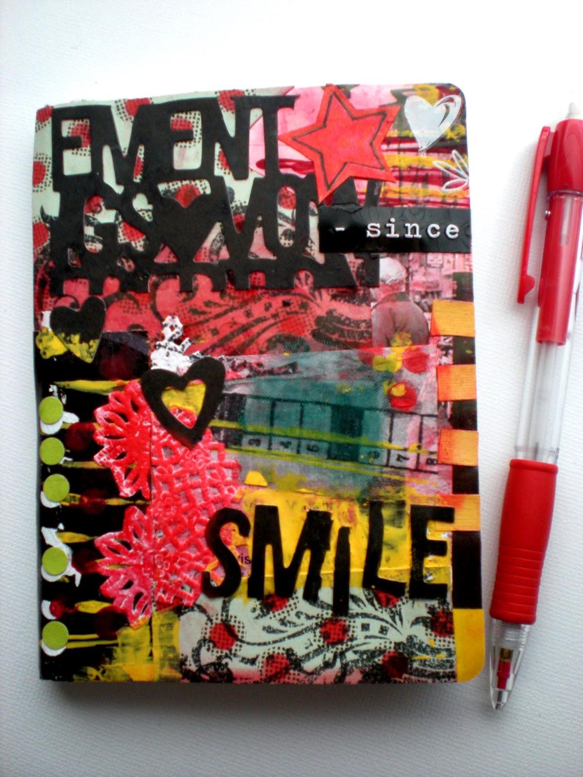 Libreta alterada 'Smile'
