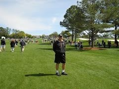 Jim at the Master's Golf Tournament