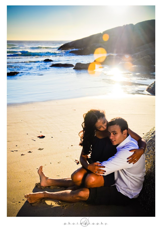 DK Photography Niq11 Niquita & Lance's Engagement Shoot on Llandudno Beach  Cape Town Wedding photographer