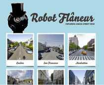Google Street View de varias ciudades del mundo Robot Flaneur