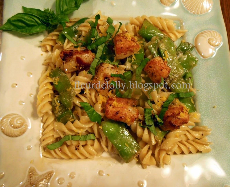 Fleur de Lolly: Mediterranean seasoned seared scallops ...