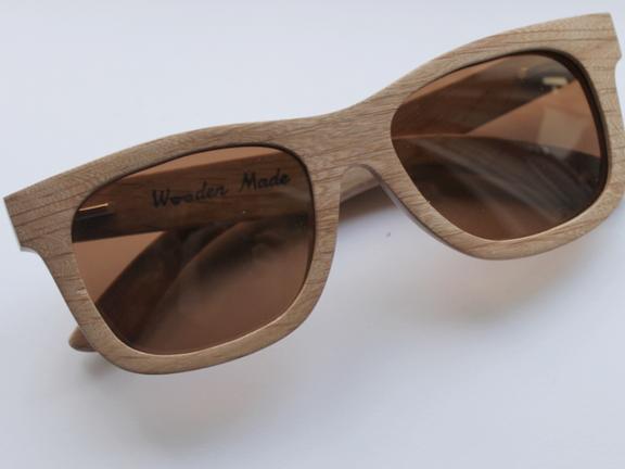 Wooden Made | Scarlet Zonnebril.