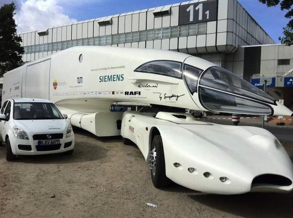 Truck masa depan dengan desain futuristik info artikel for Camping car de luxe avec piscine