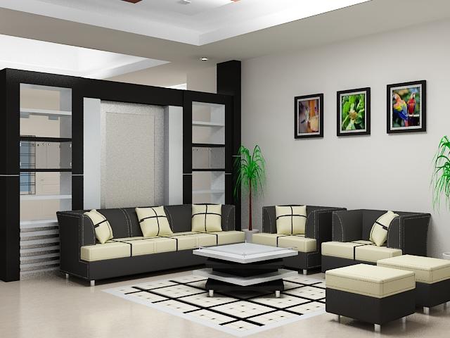tips memilih warna cat yang tepat untuk ruang tamu