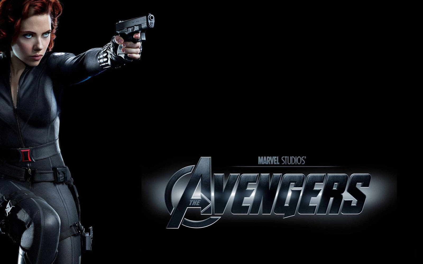 Scarlett Johansson As Black Widow The Avengers Wallpaper HD