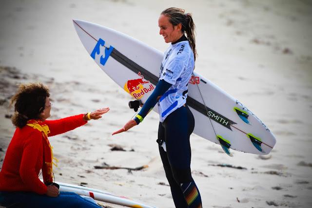 75 Justine Dupont FRA Pantin Classic Galicia Pro Foto WSL