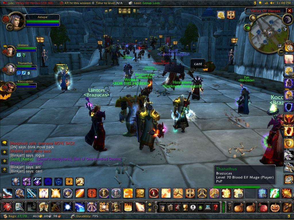World of warcraft single player