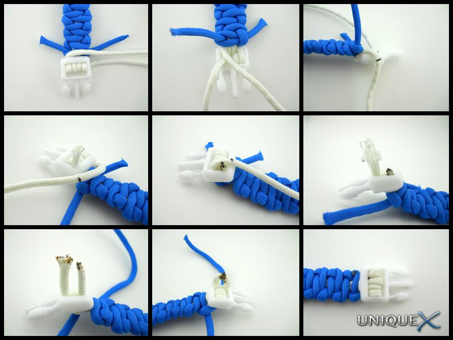 Unique Ropecraft How To Tie A Wave Weave Bracelet