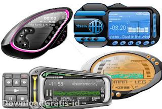 Software Audio Player Dengan Tampilan Skin Berkelas -